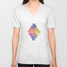 Transitional Rainbow Unisex V-Neck