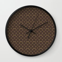 Fake LV Wall Clock
