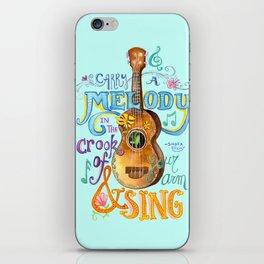 Ukulele Melody iPhone Skin