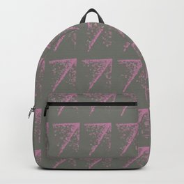 Pink Fuzz Backpack