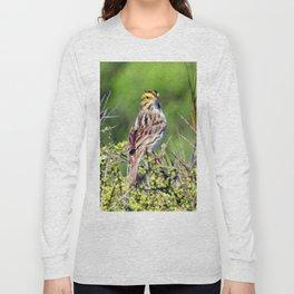 Savannah Sparrow Long Sleeve T-shirt
