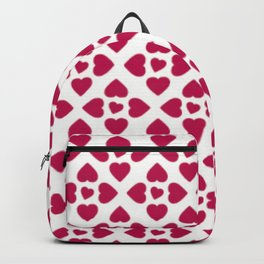 Heart Pattern Love Gift for Lovers Backpack