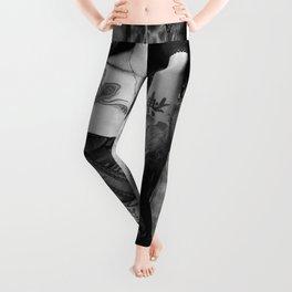 Lepa Dinis in lingerie Leggings
