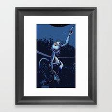 Sea Monkey Framed Art Print