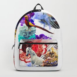 Condescending Bearded Dragon Dances on Fortunate Astronauts Last Century Backpack