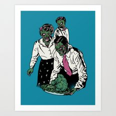Z-gans Art Print