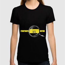 Tape Measure Border T-shirt