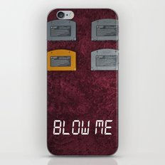 BLOW ME.  iPhone & iPod Skin