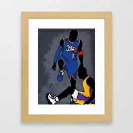 The Step Over Framed Art Print
