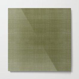 Tissu d'écorce Olive Metal Print
