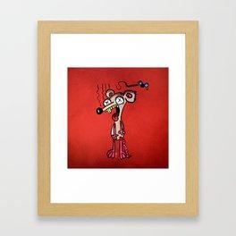 Dead mouse Framed Art Print