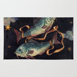 Zodiac sign Pisces Rug