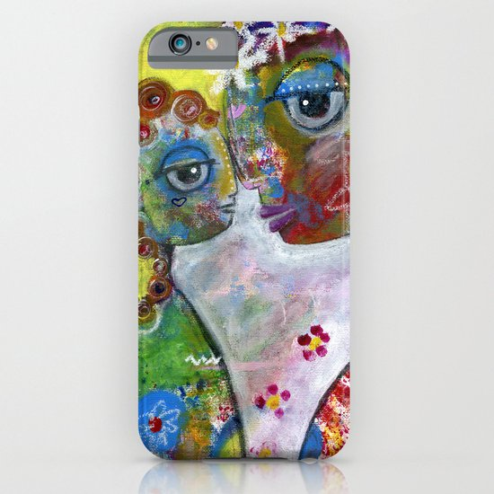Mother and Daughter iPhone & iPod Case