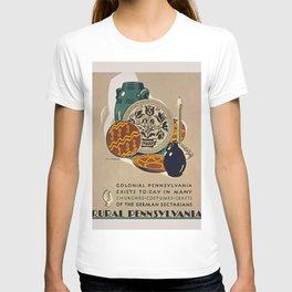 Vintage poster - Rural Pennsylvania T-shirt