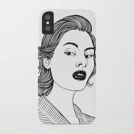 Inktober 12_2016 iPhone Case