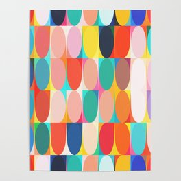 Colourful Dots Poster