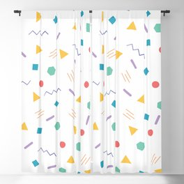 All the Shapes Blackout Curtain