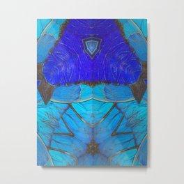 Don't Be Blue Metal Print