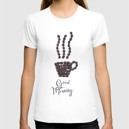 Coffee beans T-shirt