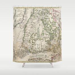 Finland 1745 Shower Curtain