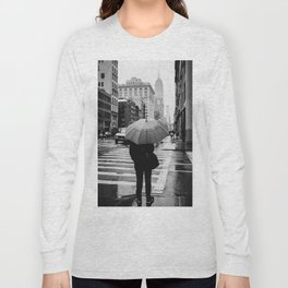 Rainy New York VIII Long Sleeve T-shirt