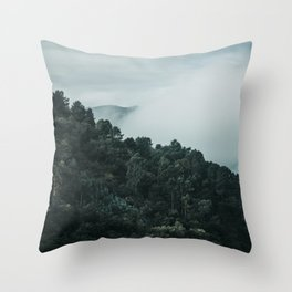 douro mountains and valley Throw Pillow
