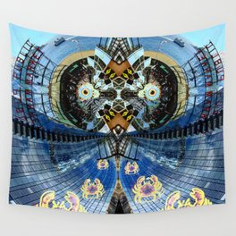 CRAB MARCH Wall Tapestry