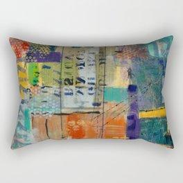 Conversing in Color Rectangular Pillow
