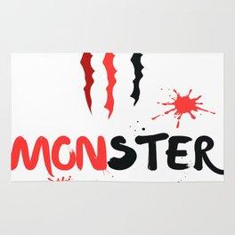 Ltd Edition:monster art Rug