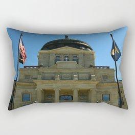 Montana State Capitol Rectangular Pillow