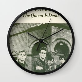 Smiths - The Queen Is Dead Wall Clock