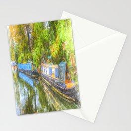 Narrow Boat Serenity Stationery Cards