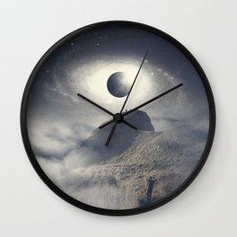 Planet Perch Wall Clock