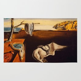 Salvador Dali - The Persistence of Memory Rug