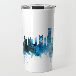 Boston Massachusetts Skyline Travel Mug