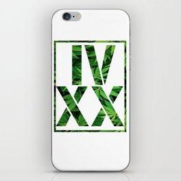 IV XX iPhone Skin