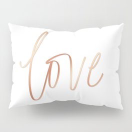 Your Love is Gold Pillow Sham