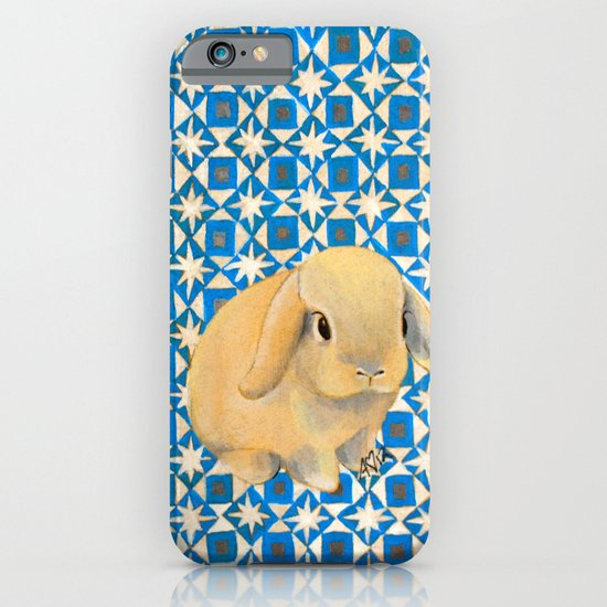 Charlie the Rabbit iPhone & iPod Case