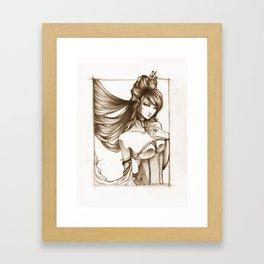 the mistress Framed Art Print