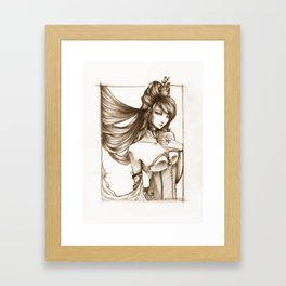 the mistress Framed Art Print