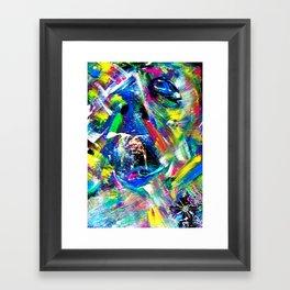 The passing of time Framed Art Print