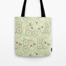 Bike Parts Tote Bag