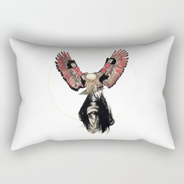 Haida Eagle Rectangular Pillow