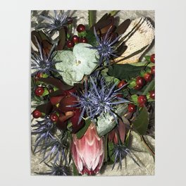 Nature Wildflowers 2 Poster