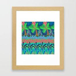 Laia&Jungle III Framed Art Print