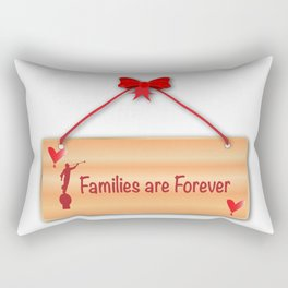 Families Are Forever Sign Rectangular Pillow