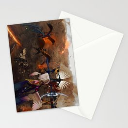 War in Heavens Stationery Cards