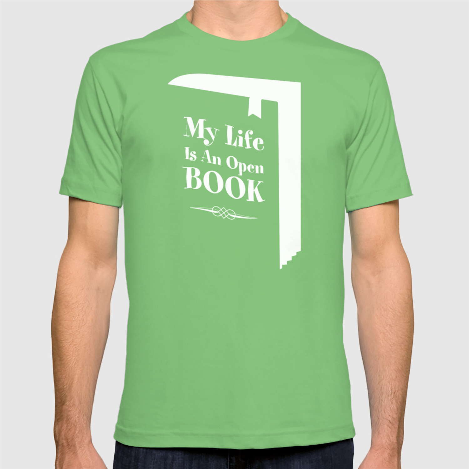 ea80b27e My Life Is An Open Book T-shirt by grandeduc   Society6