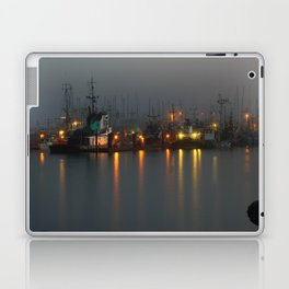 Foggy Harbour Laptop & iPad Skin