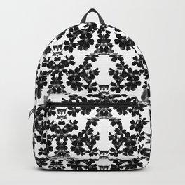 primrose bw pattern Backpack